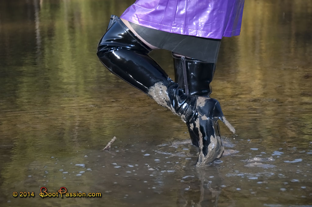Messy Boots: Wet, Messy And Muddy Boots